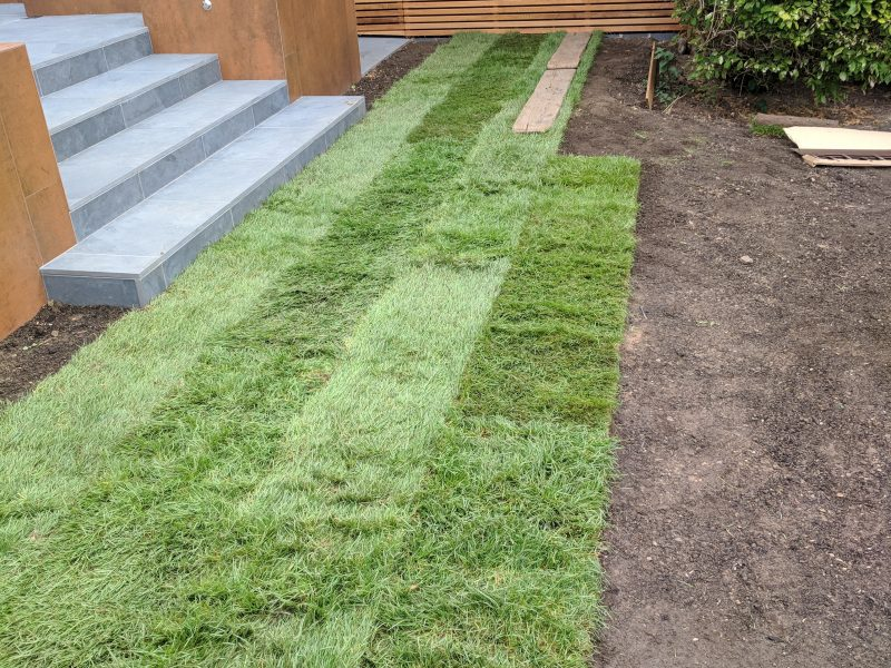 Turfing, Gravelling and Fencing